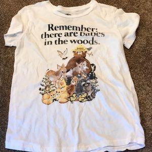 Lucky Brand Prevent Forest Fires T-shirt